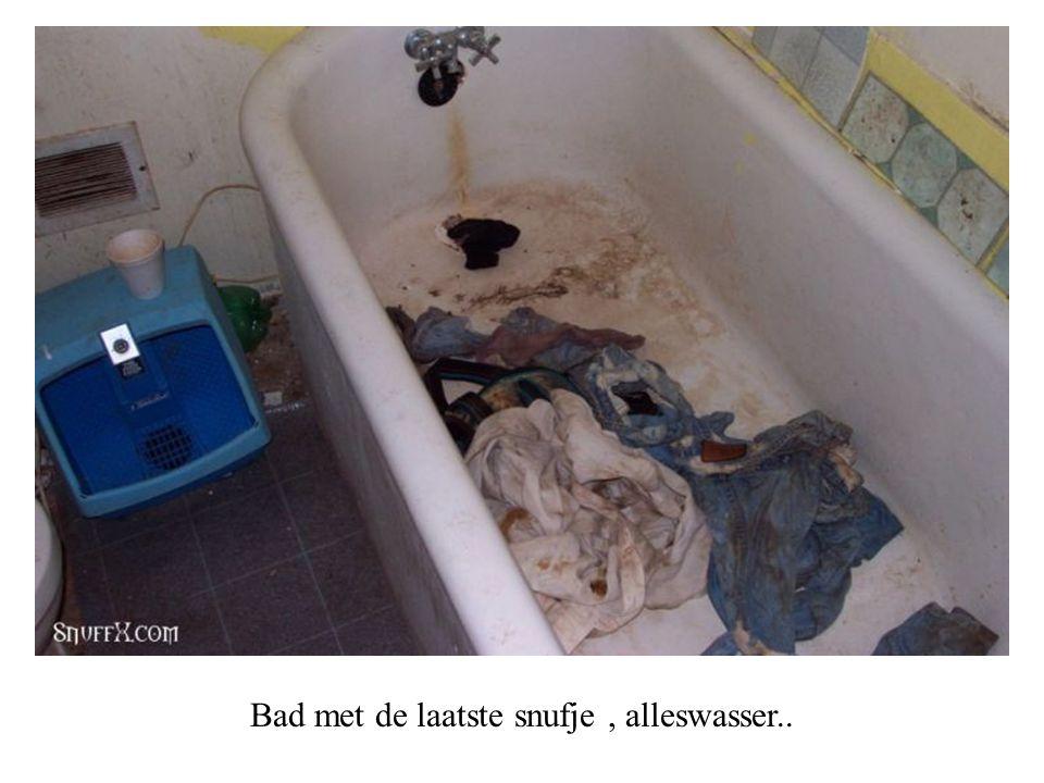 Heel belangrijk, de lavabo met de originele kranen...