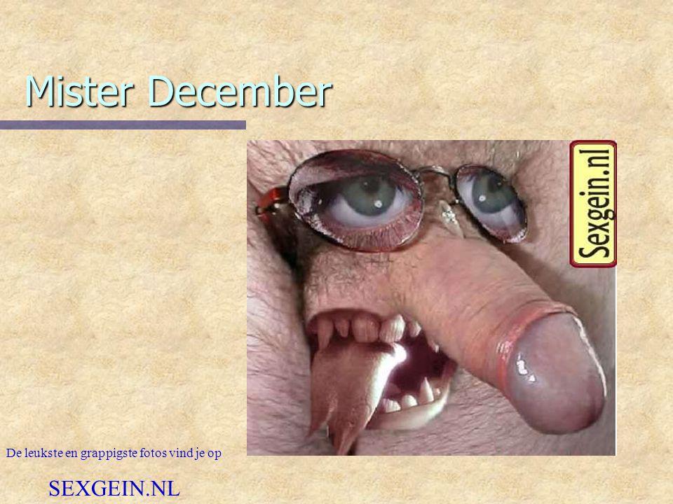 Mister December De leukste en grappigste fotos vind je op SEXGEIN.NL