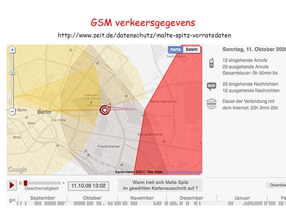 GSM verkeersgegevens http://www.zeit.de/datenschutz/malte-spitz-vorratsdaten 26
