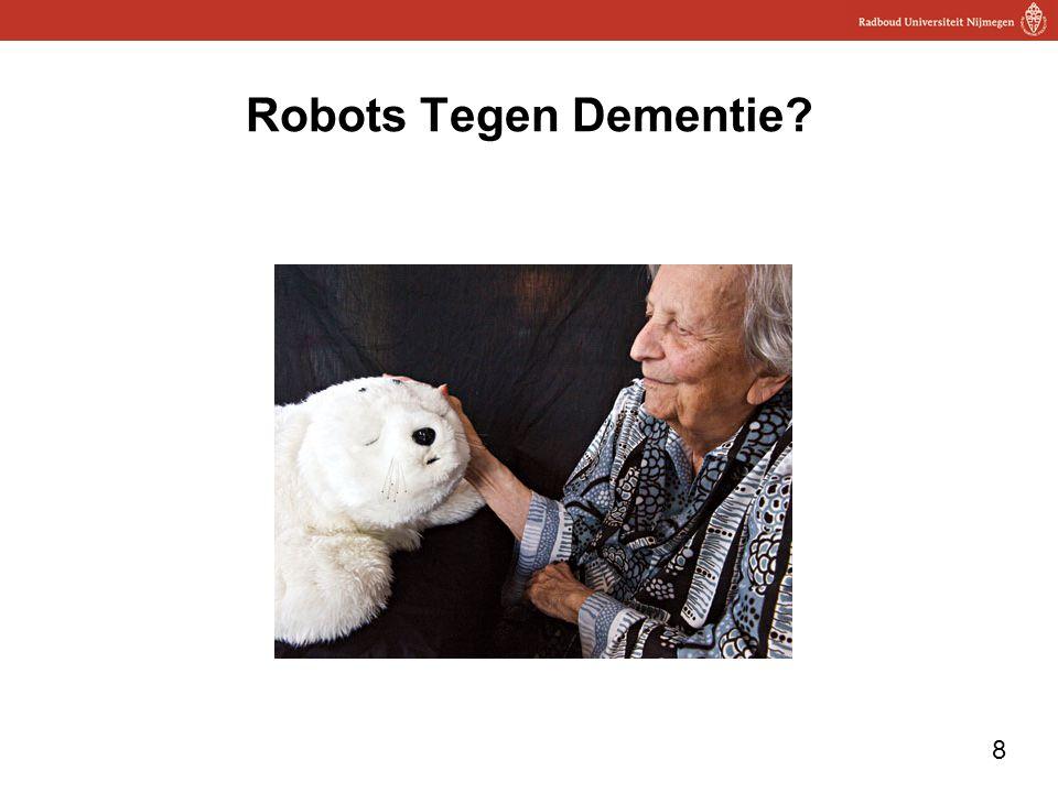 8 Robots Tegen Dementie?