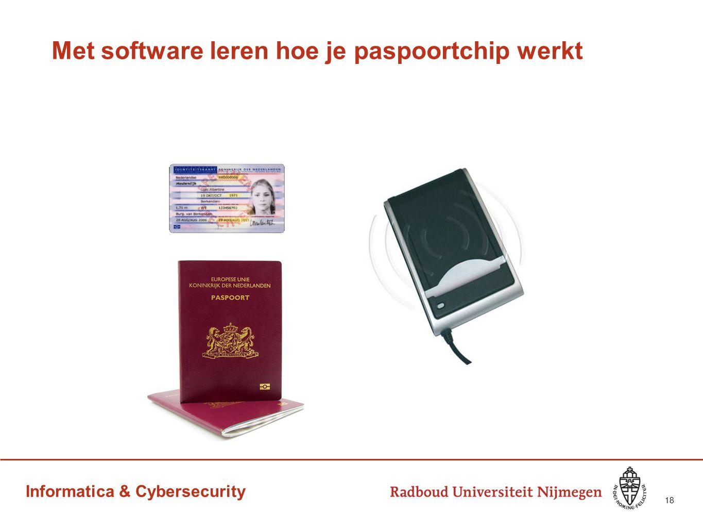 Informatica & Cybersecurity Met software leren hoe je paspoortchip werkt 18