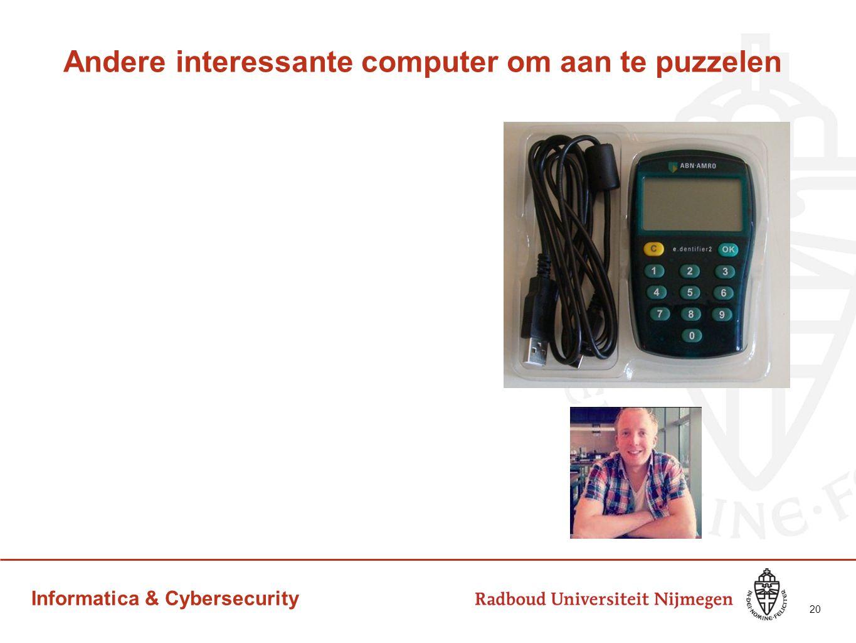 Informatica & Cybersecurity Andere interessante computer om aan te puzzelen 20