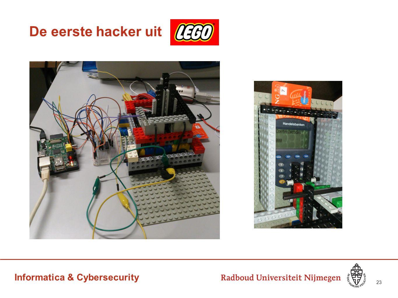 Informatica & Cybersecurity De eerste hacker uit 23