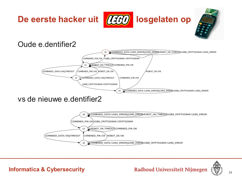 Informatica & Cybersecurity De eerste hacker uit losgelaten op Oude e.dentifier2 vs de nieuwe e.dentifier2 24