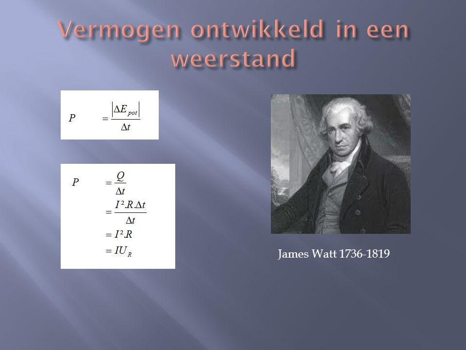 James Watt 1736-1819