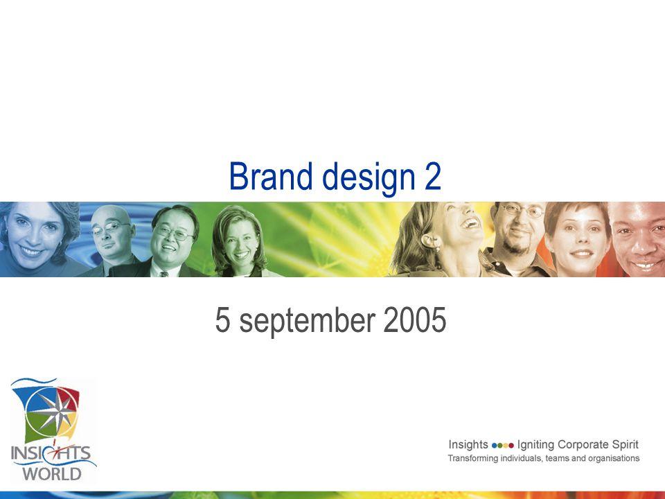 Brand design 2 5 september 2005