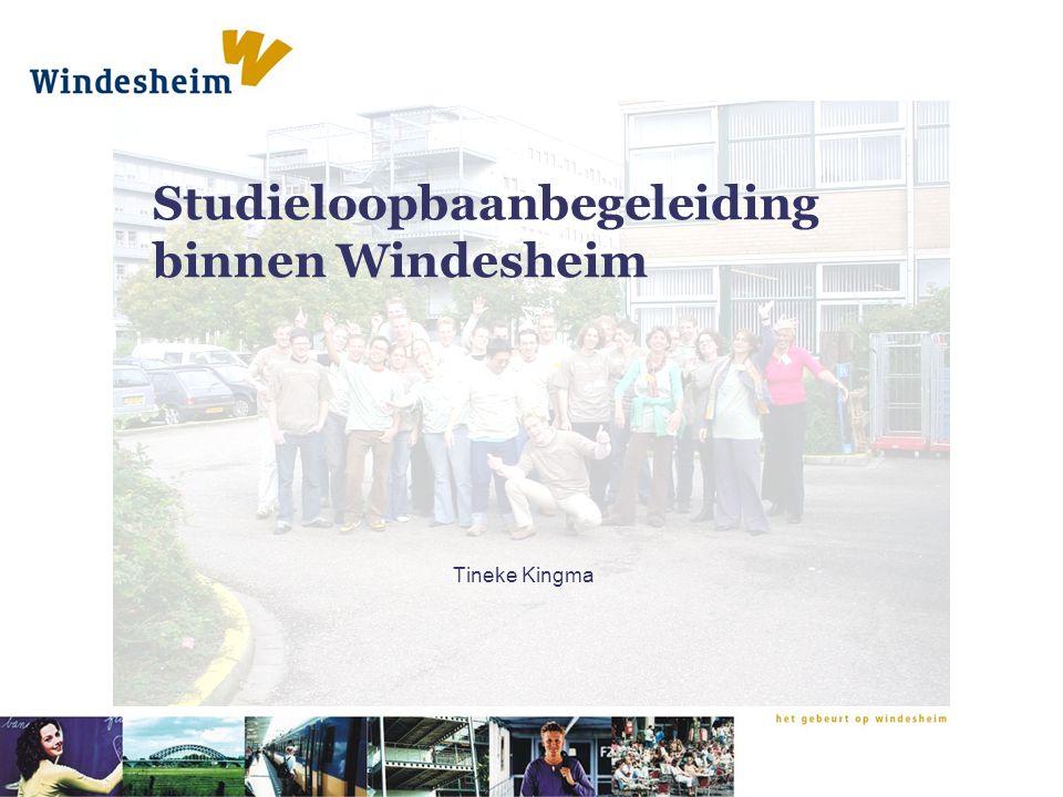 Studieloopbaanbegeleiding binnen Windesheim Tineke Kingma