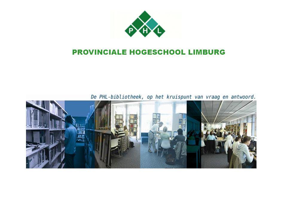 PROVINCIALE HOGESCHOOL LIMBURG