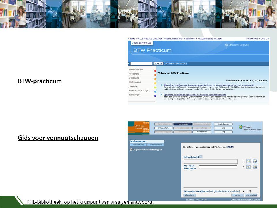 PHL-Bibliotheek, op het kruispunt van vraag en antwoord. Vastgoed InfoProfessioneel vermogensadvies