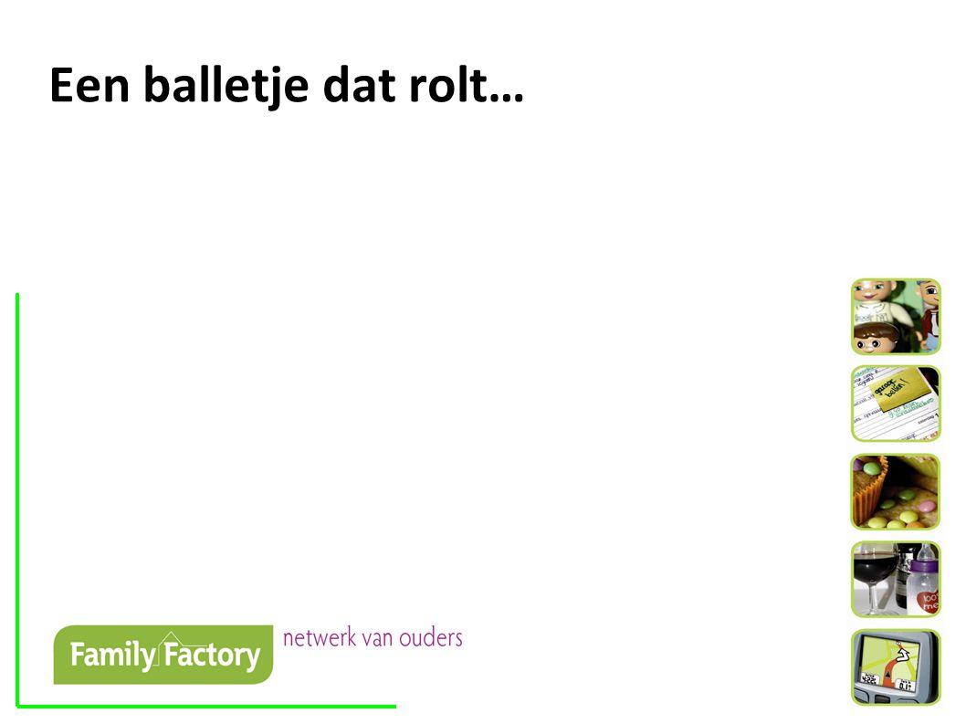 Een balletje dat rolt…