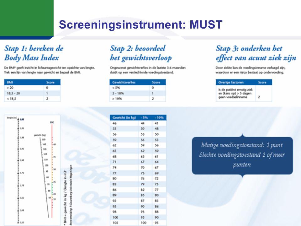 Screeningsinstrument: MUST