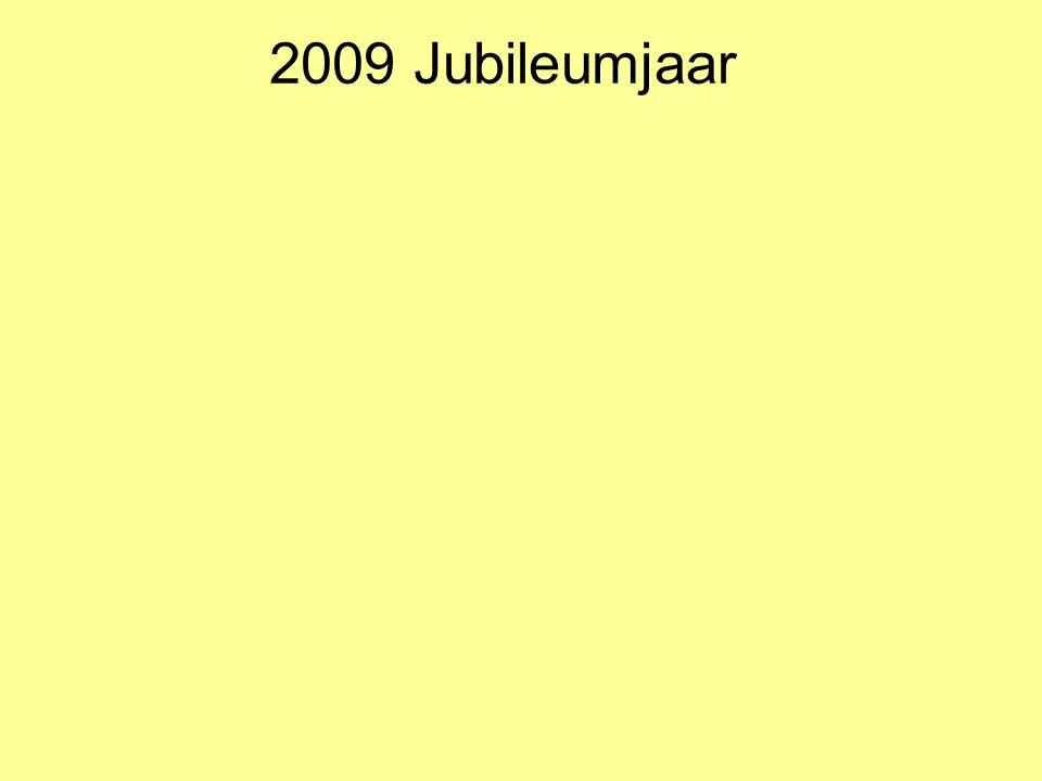2009 Jubileumjaar