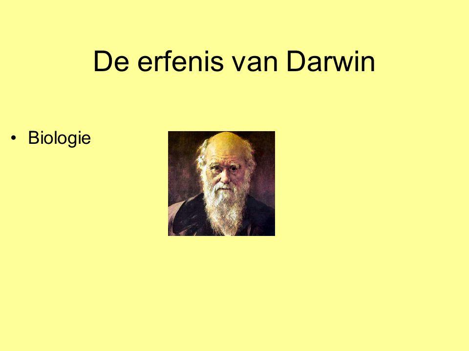 De erfenis van Darwin Biologie