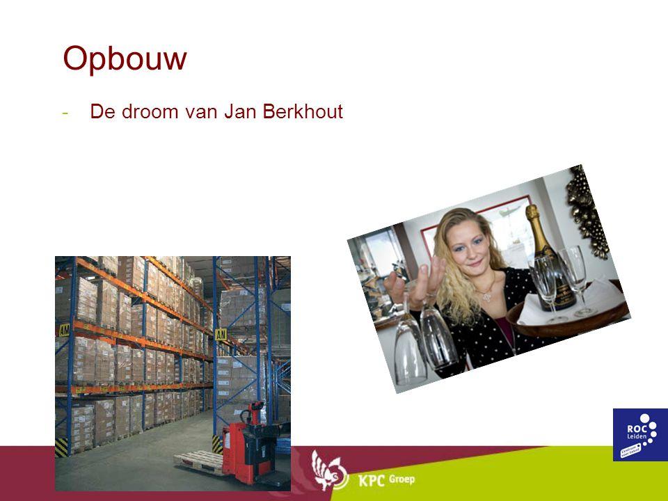 Opbouw -De droom van Jan Berkhout