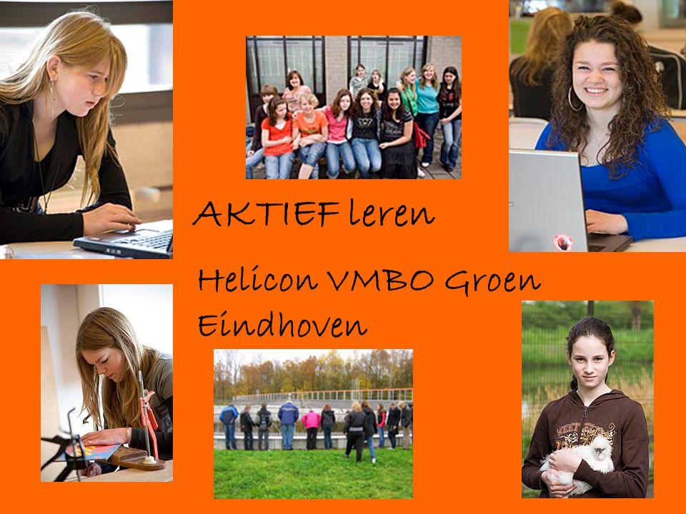 AKTIEF leren Helicon VMBO Groen Eindhoven