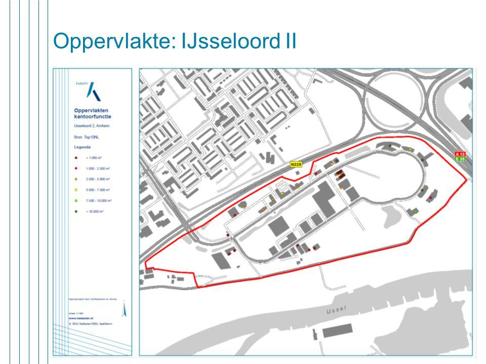 20 juni 2013 11 Oppervlakte: IJsseloord II