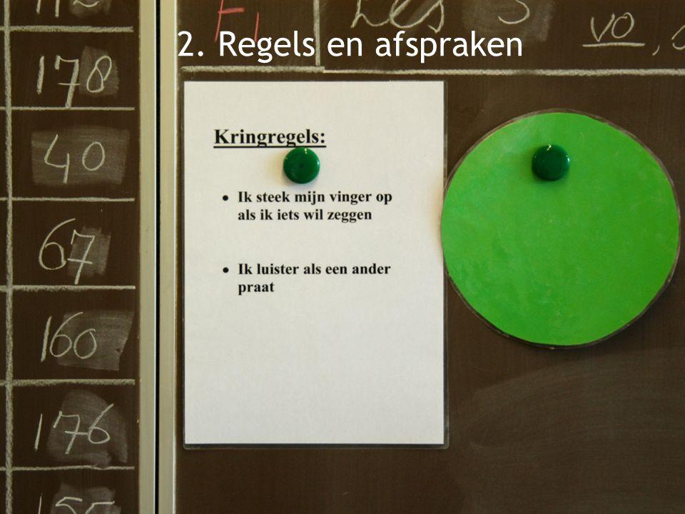 klassenmanagement 2. Regels en afspraken