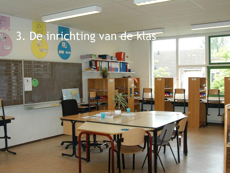 klassenmanagement 3. De inrichting van de klas