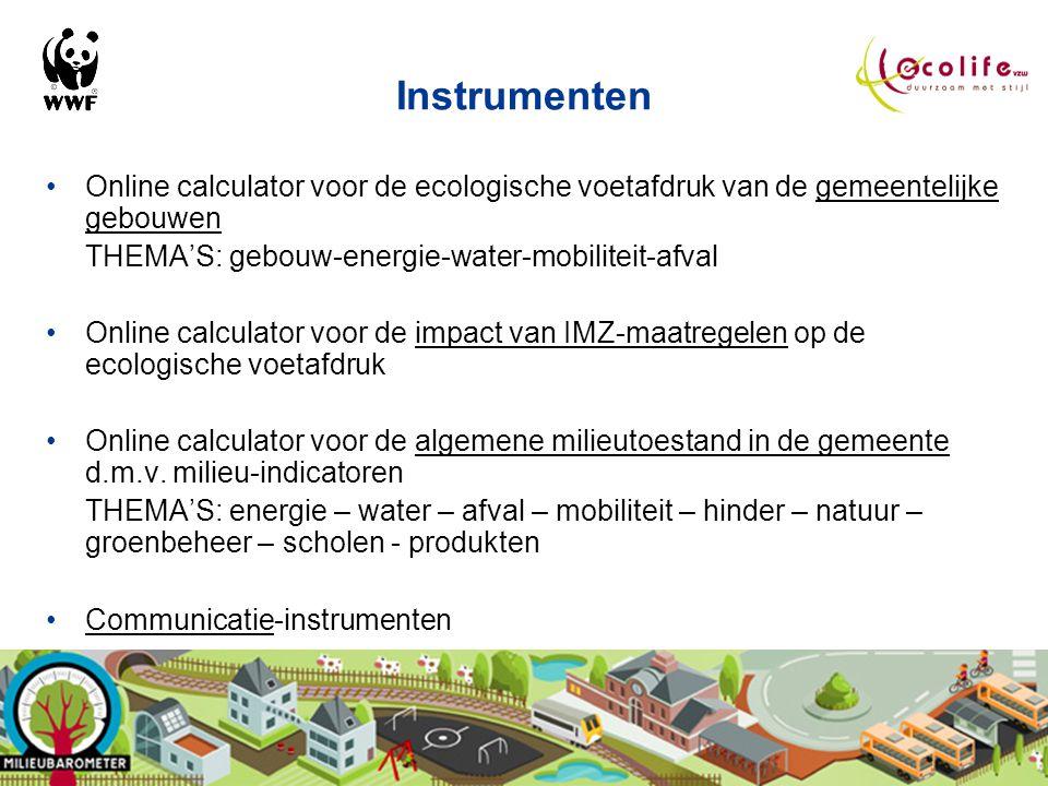 WWF - Sam Van den plas Voorstelling instrumenten Milieubarometer
