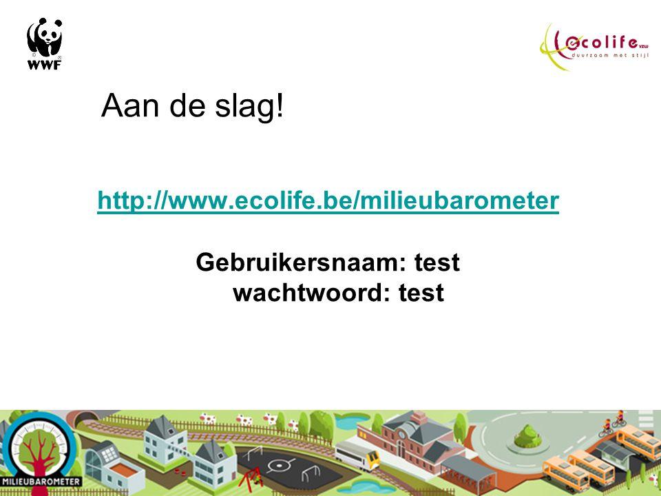 Instrumenten Online calculator voor de ecologische voetafdruk van de gemeentelijke gebouwen THEMA'S: gebouw-energie-water-mobiliteit-afval Online calc