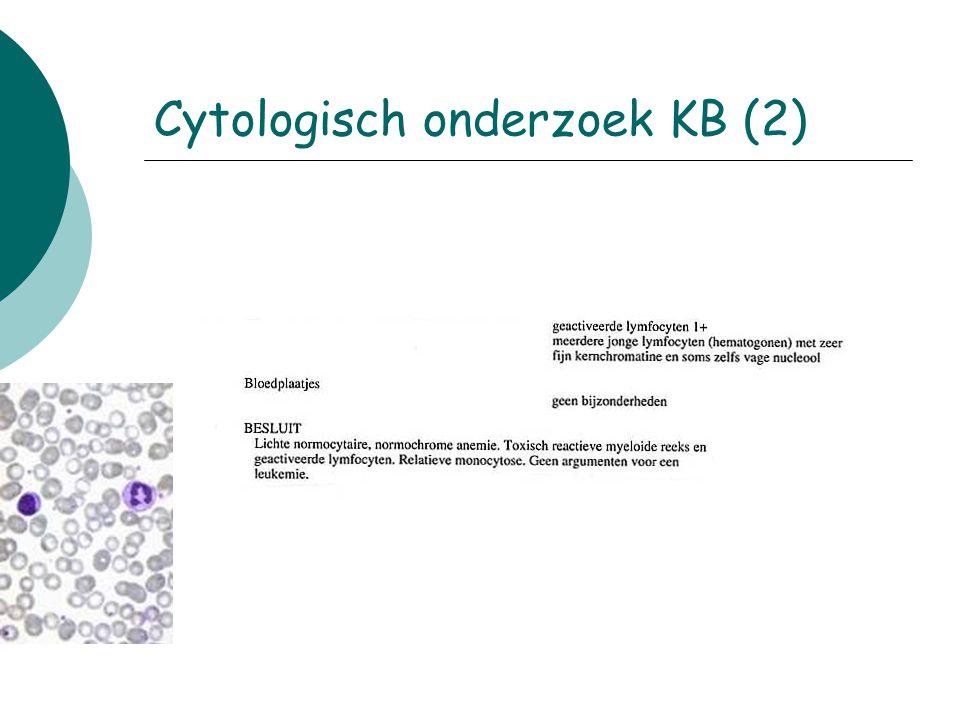Cytologisch onderzoek KB (2)