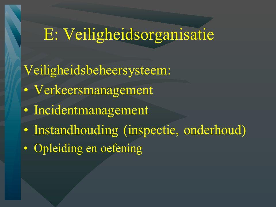 Rookverspreiding tunnelportalen Maatregelen bij calamiteiten Ventilatieregime Andere voorzieningen (bv rookmuur)