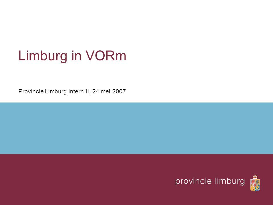 Limburg in VORm Provincie Limburg intern II, 24 mei 2007