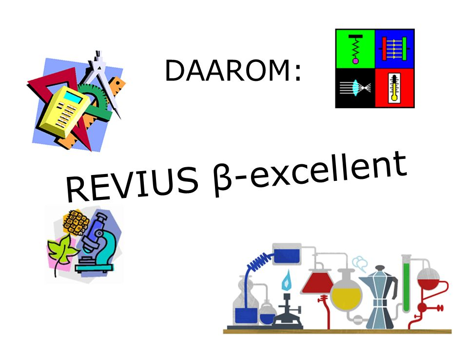 DAAROM: REVIUS β-excellent