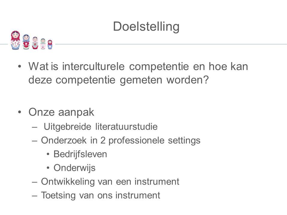 Toekomstplannen Instrumentontwikkeling - Optimaliseren van instrument - Verfijnen van feedbackmatrix - Uitbouwen van begeleidingsaanbod Onderzoek - Screening - Effectmeting Studentniveau Opleidingsniveau