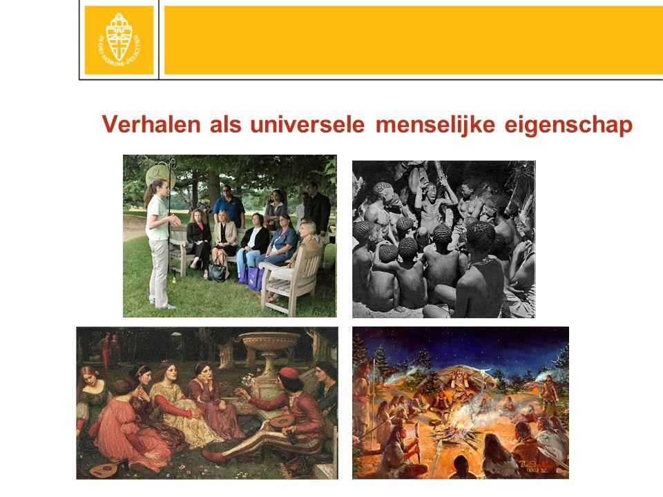 Verhalen als universele menselijke eigenschap