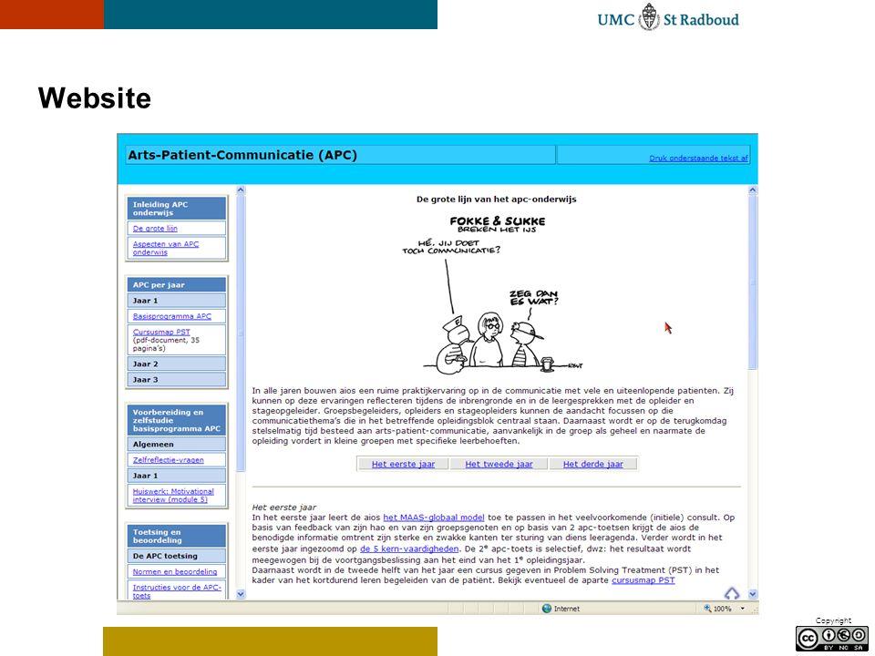 Copyright Website