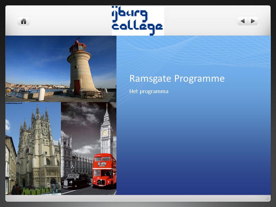 Het programma Ramsgate Programme