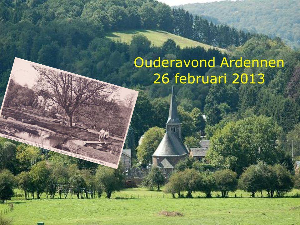 Ouderavond Ardennen 26 februari 2013