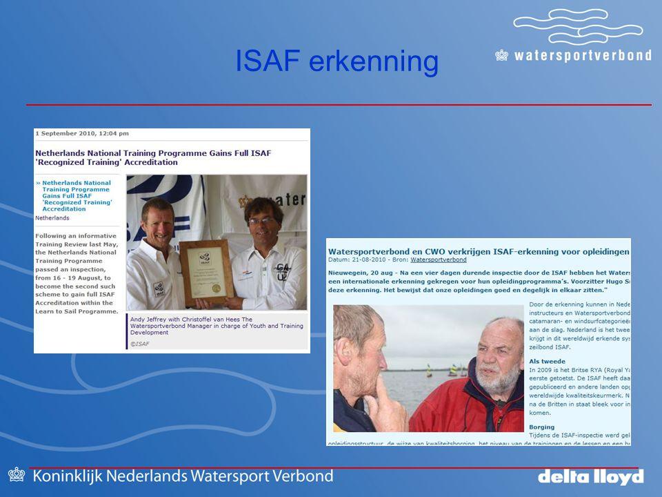 ISAF erkenning