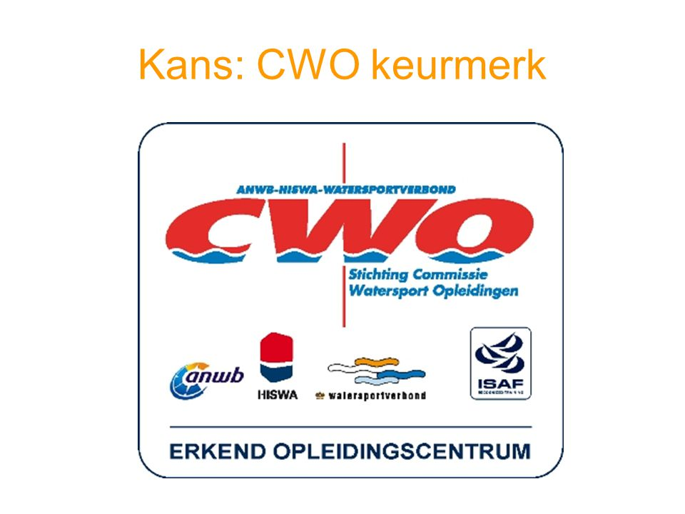 Kans: CWO keurmerk