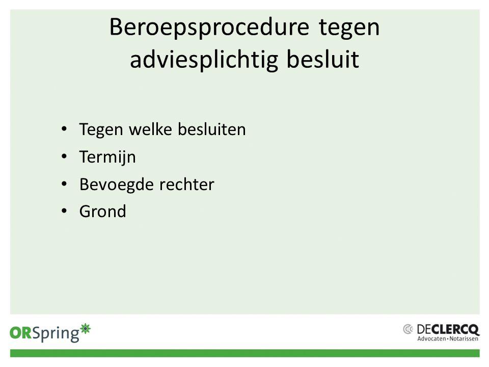 Voorkomen procedures