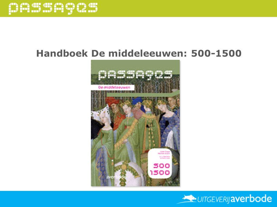 Handboek De middeleeuwen: 500-1500