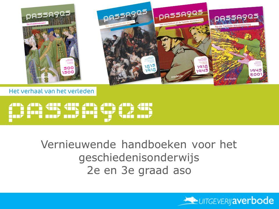 Datum Vernieuwende handboeken voor het geschiedenisonderwijs 2e en 3e graad aso