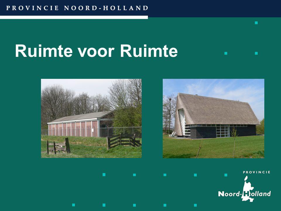 Inhoudsopgave presentatie: Fred Blok.Doel Ruimte voor Ruimte.