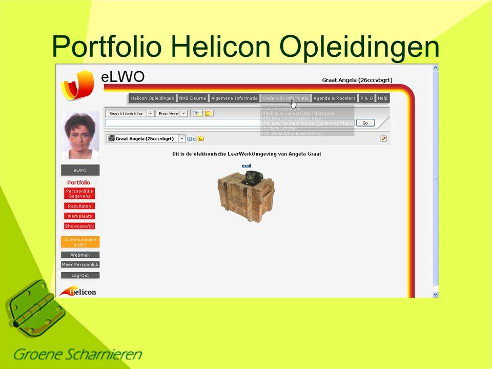 Portfolio Helicon Opleidingen