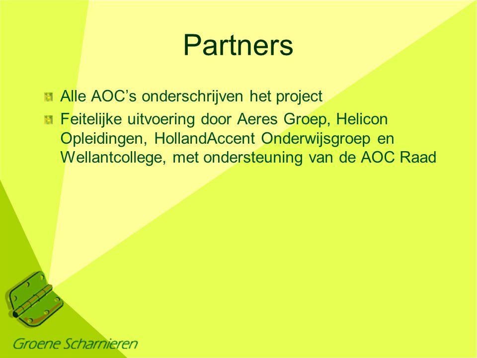 Doel van het project Het algemene doel: toetsen van de concept afspraak van Stichting Kennisnet Het specifieke doel: nagaan in hoeverre uitwisseling van data tussen portfolio's van AOC's mogelijk is