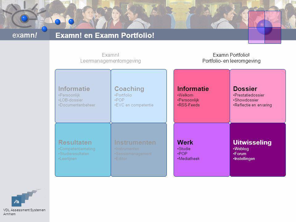 VDL Assessment Systemen Arnhem Competenties in het beroep kennis eenvoudige vaardigheden complexe vaardigheden attitudes persoonskenmerken hoog laag leerbaarheidbelangrijkheid