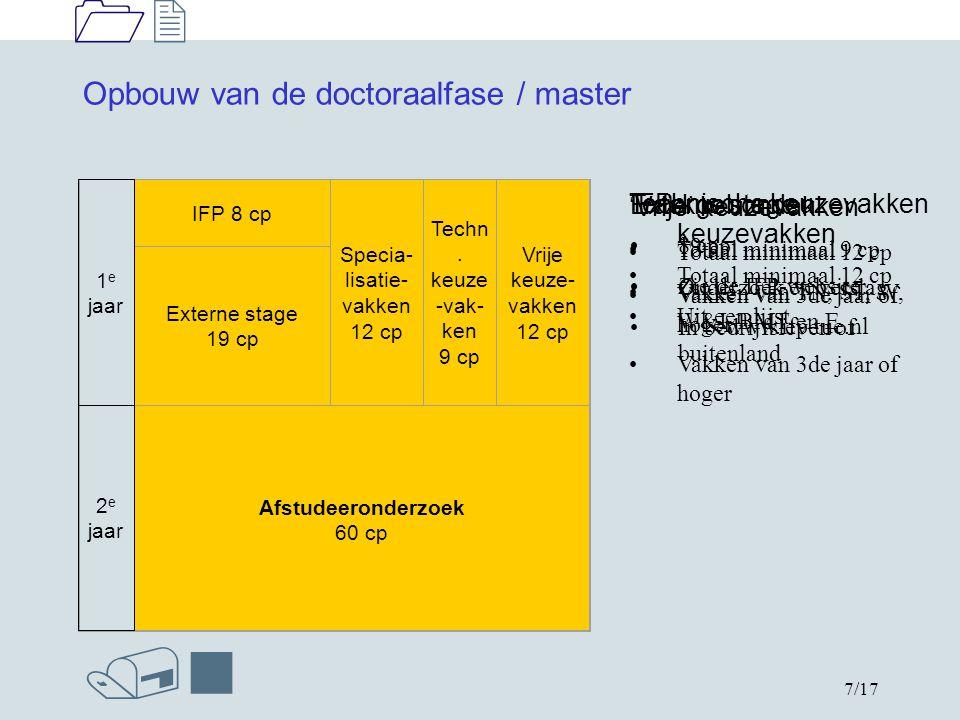 1212 /n 8/17 Tracks / afstudeerrichtingen Functional (Nano-) Materials + Nano engineering track coördinator: prof.dr.ir.