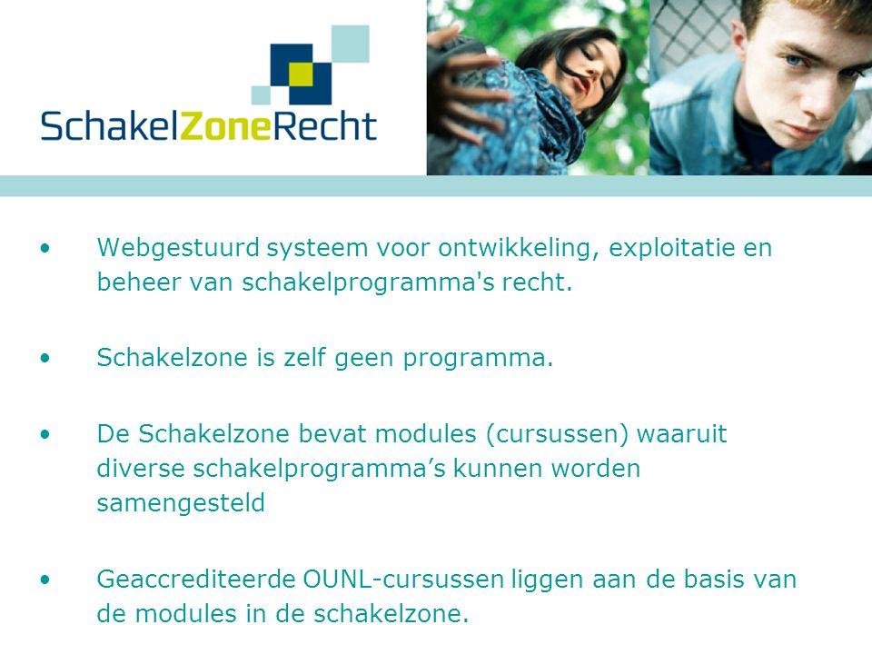  HBO-rechten bachelors kunnen door middel van de Schakelzone toegang verkrijgen tot de WO-master Nederlands Recht.