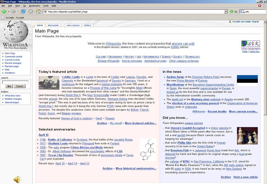 """51 Samen inhouden bouwen: wiki's """"Wiki,"""