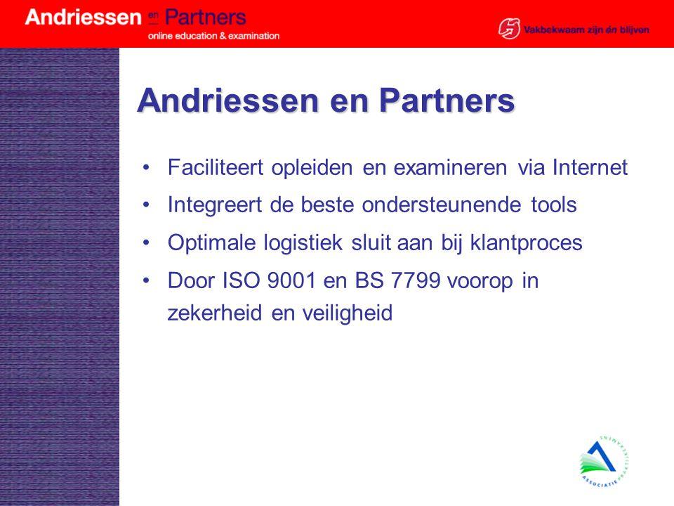 Andriessen en Partners Svm nivo IB groep