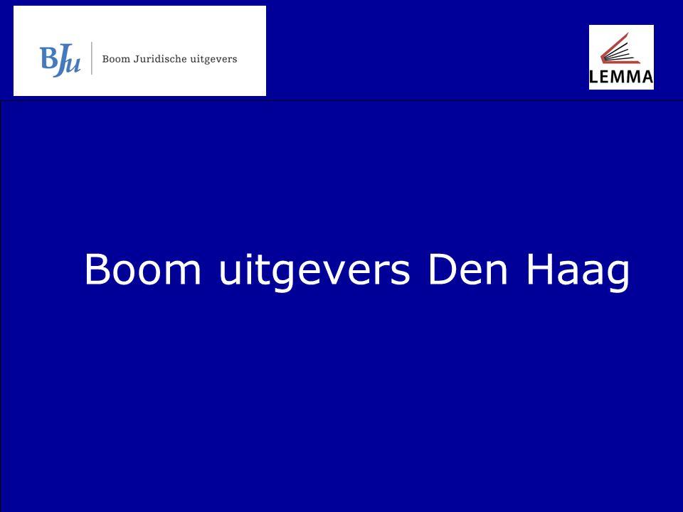 Boom uitgevers Den Haag