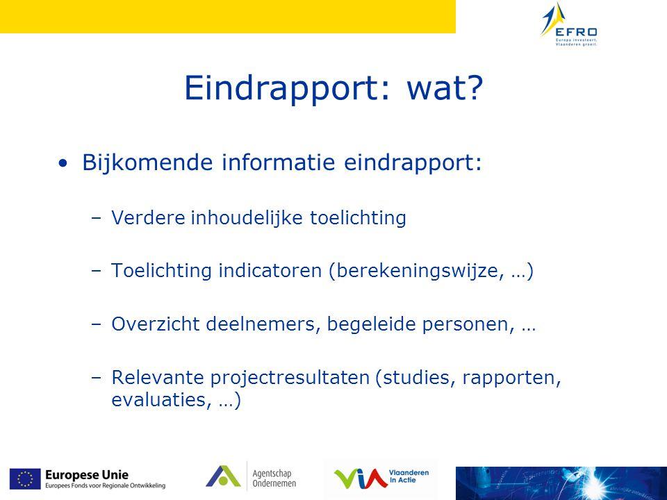 Behandeling eindrapport door EEE 4.