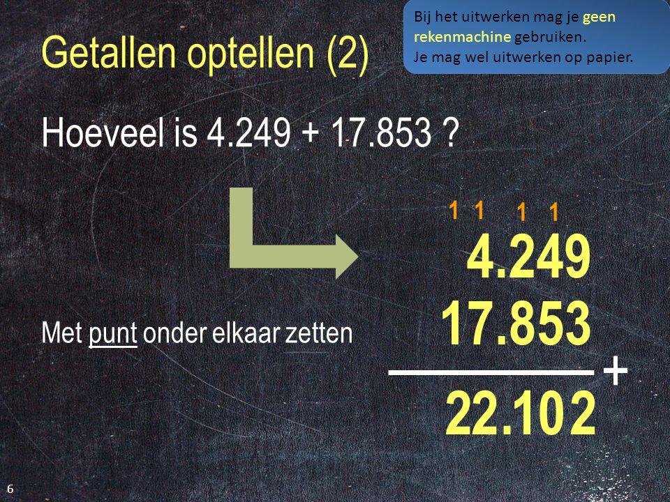 Domein Getallen 16 Optellen en aftrekken combinaties s t a n d a a r d b e w e r k i n g e n