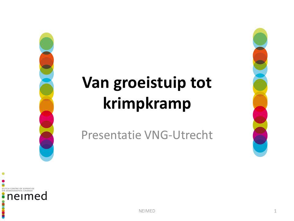 NEIMED1 Van groeistuip tot krimpkramp Presentatie VNG-Utrecht